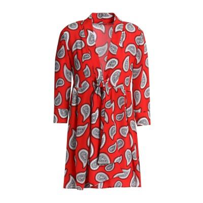 ドド・バー・オア DODO BAR OR ミニワンピース&ドレス レッド 42 シルク 100% ミニワンピース&ドレス