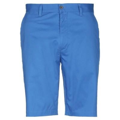 DEWE ショートパンツ&バミューダパンツ ファッション  メンズファッション  ボトムス、パンツ  ショート、ハーフパンツ ブルー