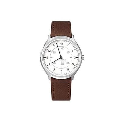 Mondaine MON Helvetica Regular MH1.R2S10.LG Smart Watch |40 mm Stainless St 並行輸入品