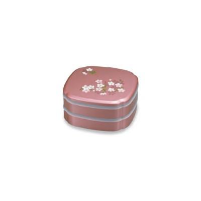 宇野千代 シール付 8.0 木瓜オードブル あけぼの桜 ピンク [正和/お弁当箱/ランチボックス]
