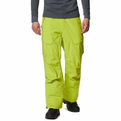 コロンビア Columbia メンズ スキー・スノーボード ボトムス・パンツ powder stash snowboard pants Bright Chartreuse