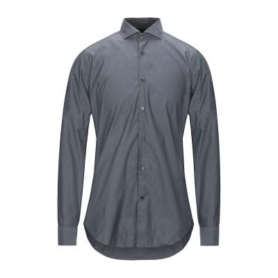 カリバン CALIBAN シャツ 鉛色 38 コットン 100% シャツ