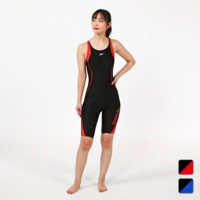 スピード レディース 水泳 フィットネス水着 EVEN LAP KNEESKIN SFW12050 SPEEDO sdcp20