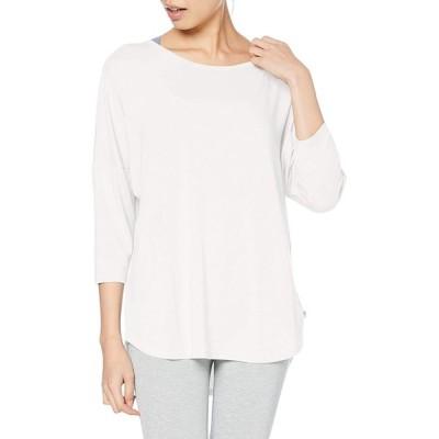 [アツギ] Tシャツ クリアビューティアクティブ ヨガTシャツ7分袖 レディース 47020NS ホワイト 日本 フリーサイズ (FREE サイズ)