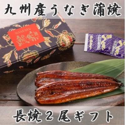 九州産うなぎ蒲焼 長焼2尾ギフトセット 鰻楽