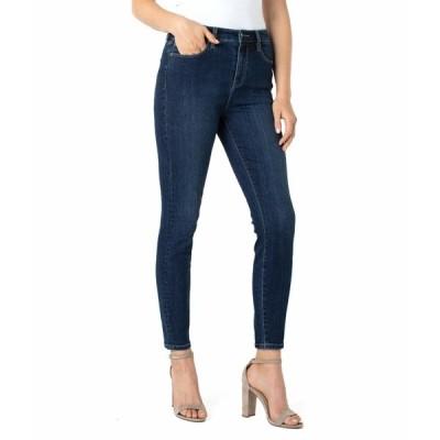 リバプール デニムパンツ ボトムス レディース Abby Sustainable Ankle Skinny Jeans in Essential Essential