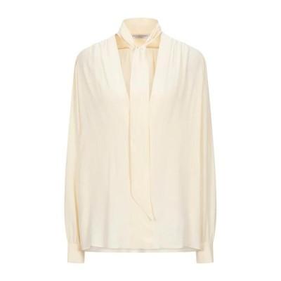 PHILOSOPHY di LORENZO SERAFINI ブラウス  レディースファッション  トップス  シャツ、ブラウス  長袖 ベージュ