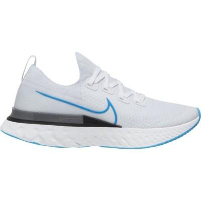 ナイキ Nike メンズ ランニング・ウォーキング シューズ・靴 React Infinity Run Flyknit True White/Photo Blue/White