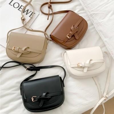 ショルダーバッグ レディース バッグ かばん デザイン ベルト コンパクト オールシーズン 上品 大人 韓国 ファッション