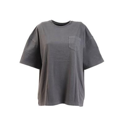 エルケクス(ELKEX) Tシャツ レディース 半袖 G/DYE WIDE BP 882EK0UK3234DGRY (レディース)