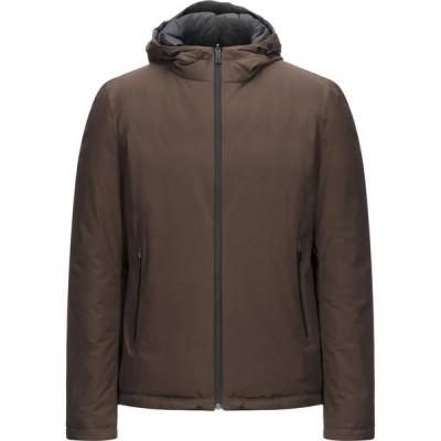 ヘルノ HERNO メンズ ダウン・中綿ジャケット アウター down jacket Dark brown