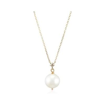 [ブルーム] 真珠・パール イエローゴールド K18 ネックレス BGPGB1698G40