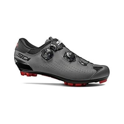 Sidi Dominator 10 サイクリングシューズ メンズ ブラック/グレー 44.5【並行輸入品】