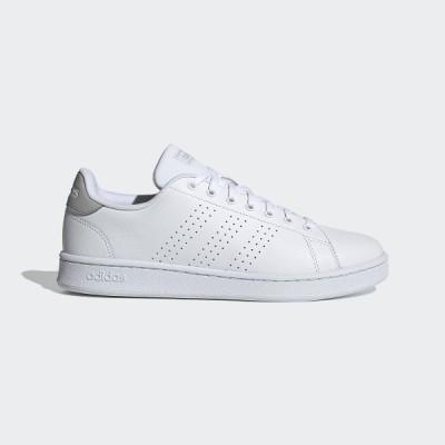 adidas アディダス ADVANCOURT LEA U DBH42 FV8491 シューズ カジュアル レディース フットウェアホワイト/フットウェアホワイト/グレーツー セール 送料無料