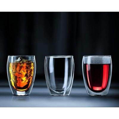 正規品 BODUM ボダム PAVINA ダブルウォールグラス 350ml (2個セット) 4559-10