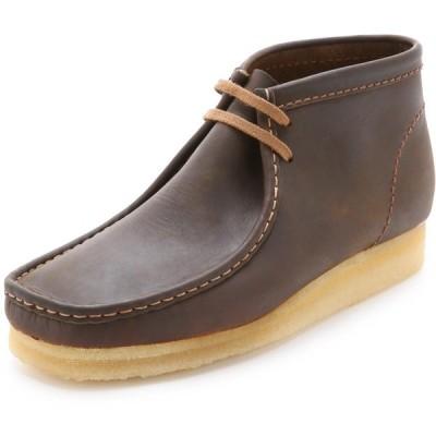 クラークス Clarks メンズ ブーツ シューズ・靴 leather wallabee boots Beeswax