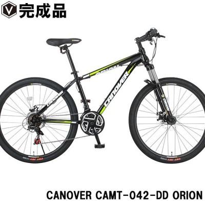 マウンテンバイク 26インチ 完成品 自転車 ディスクブレーキ Fサス シマノ21段変速 CANOVER カノーバー CAMT-042-DD ORION