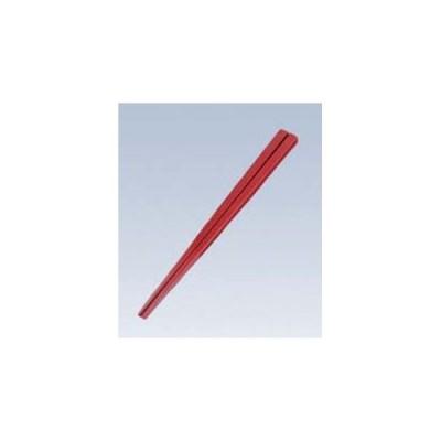 【まとめ買い10個セット品】 ポリカーボネート すべり止め箸 KB-18-S 朱【 カトラリー・箸 】