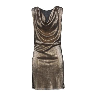 アイムパーフェクト !M?ERFECT ミニワンピース&ドレス ゴールド S ポリエステル 100% ミニワンピース&ドレス