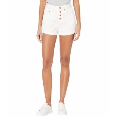 ロキシー ハーフ&ショーツ ボトムス レディース Authentic Shorts 2 Off-White