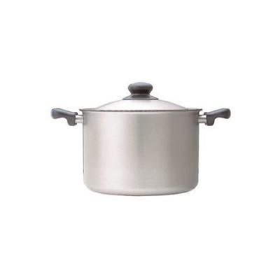 深型両手鍋22cm 代引不可 生活用品 インテリア 雑貨 キッチン 食器 鍋 圧力鍋 [▲][TP]