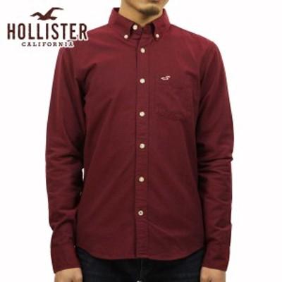 ホリスター シャツ メンズ 正規品 HOLLISTER 長袖シャツ  Solid Oxford Shirt 325-259-1574-520