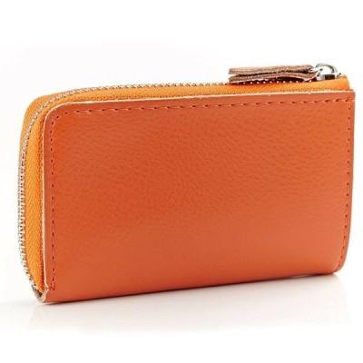 キーチェーン リング ケース ユニセックス Women's Men's Leather Key Holder Wallets Bag Car Keys Chain Case Card Purse