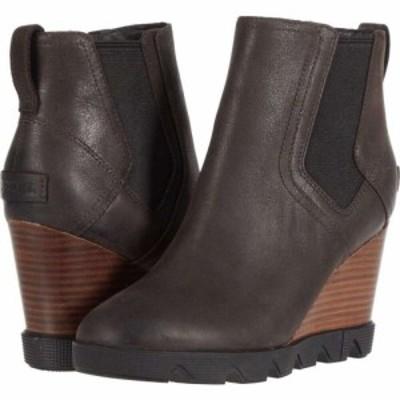 ソレル SOREL レディース ブーツ シューズ・靴 Joan Uptown(TM) Chelsea Blackened Brown