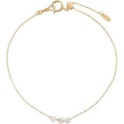 ペルシャ Persee レディース ブレスレット ジュエリー・アクセサリー Danae 18kt gold bracelet with diamonds