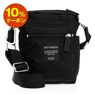 マリメッコ MARIMEKKO バッグ レディース ショルダーバッグ ブラック ROADIE CASH&CARRY BAG 026992 999 BLACK