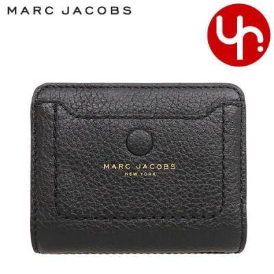 マークジェイコブス Marc Jacobs 財布 二つ折り財布 M0014215 ブラック エンパイア シティ レザー ミニ コンパクト ウォレット アウトレット レディース