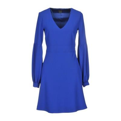 ピンコ PINKO ミニワンピース&ドレス ブルー 40 100% ポリエステル ミニワンピース&ドレス