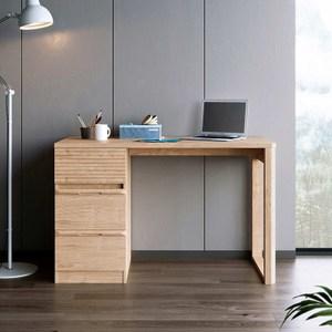 林氏木業北歐簡約儲物書桌 1M HS1V-原木色