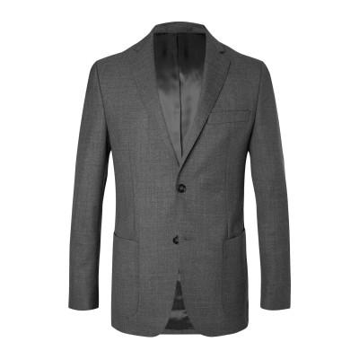 オフィシン ジェネラル OFFICINE GÉNÉRALE Paris 6ᵉ テーラードジャケット グレー 52 ウール 100% テーラードジャケ