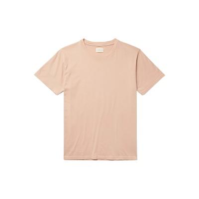 サイモン・ミラー SIMON MILLER T シャツ ペールピンク 0 コットン 100% T シャツ