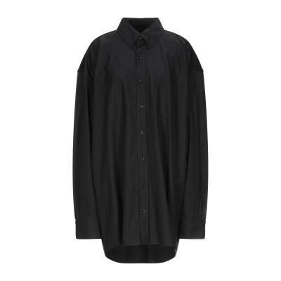 メゾン マルジェラ MAISON MARGIELA シャツ ブラック 40 コットン 100% / レーヨン / ポリウレタン シャツ