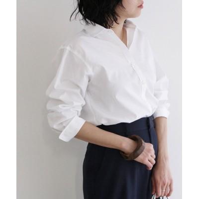 (ROPE'/ロペ)【THOMAS MASON】ベーシックシャツ/レディース ホワイト(10)