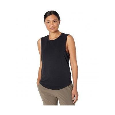 Prana プラナ レディース 女性用 ファッション トップス シャツ Rogue Sleeveless - Black