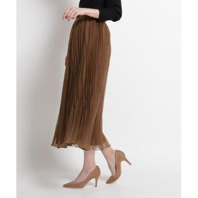COUP DE CHANCE / 【洗える】ワッシャープリーツスカート WOMEN スカート > スカート