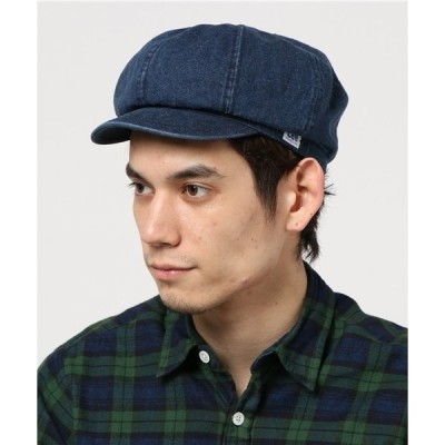 帽子 キャスケット Lee CASQUETTE DENIM/リー キャスケット デニム オーバーライド