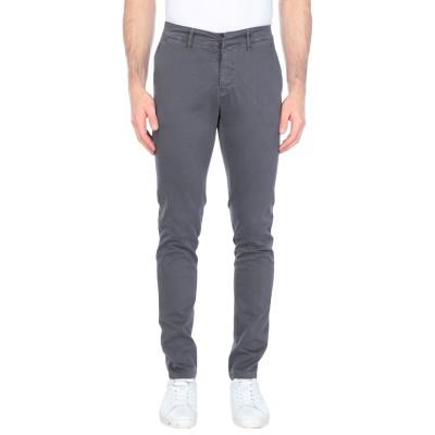 LIU •JO MAN パンツ 鉛色 28 コットン 97% / ポリウレタン 3% パンツ
