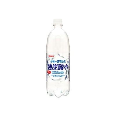 伊賀の天然水 強炭酸水 1L サンガリア 718