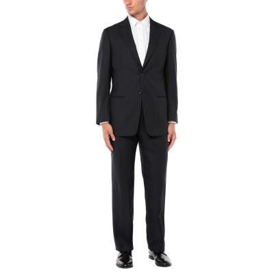 アルマーニ コレッツィオーニ ARMANI COLLEZIONI スーツ ダークブルー 52 ウール 100% スーツ