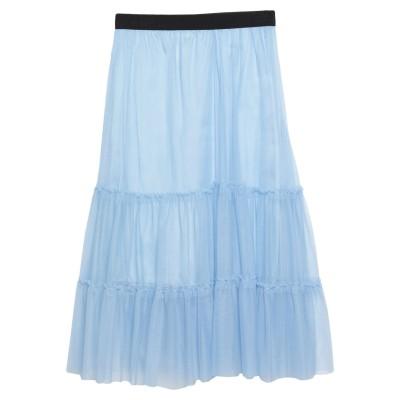 VICOLO 7分丈スカート スカイブルー one size ナイロン 100% 7分丈スカート