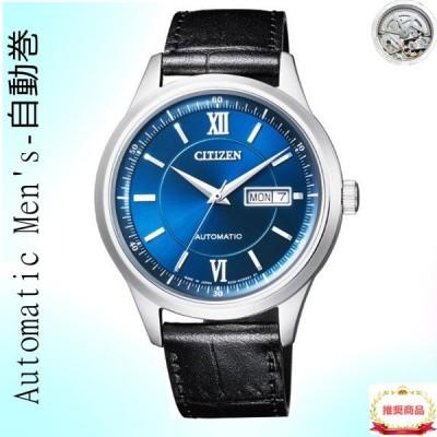 自動巻き シチズンコレクション機械式腕時計 MENS-メカニカル NY4050-03L