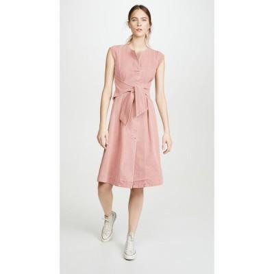 シー Sea レディース ワンピース ワンピース・ドレス Adaline Dress Pink Acid Denim