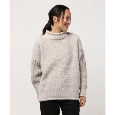 ニット Illico/バスケット編みセーター