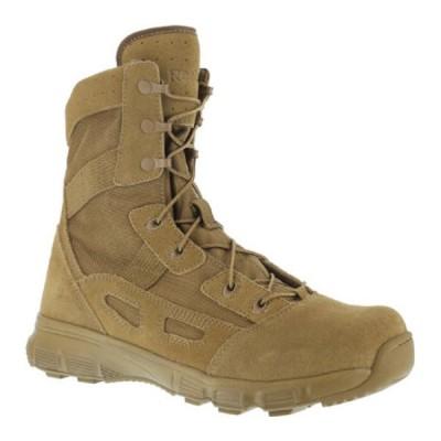 """リーボック ブーツ&レインブーツ シューズ レディース Hyper Velocity RB821 8"""" Ultralight Tactical Boot (Women's) Coyote"""