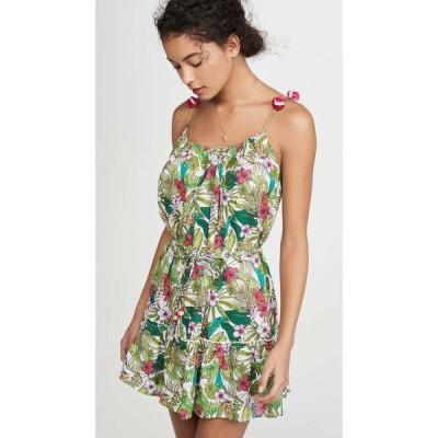 プラヤ ルシラ Playa Lucila レディース ワンピース ワンピース・ドレス Floral Short Dress Green Multi