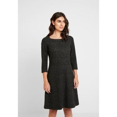 トムテイラー ワンピース レディース トップス DRESS A-SHAPE SALT AND PEPPER - Shift dress - grey black